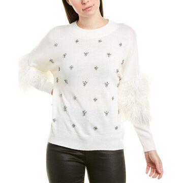 Kobi Halperin Womens Wool-Blend Sweater
