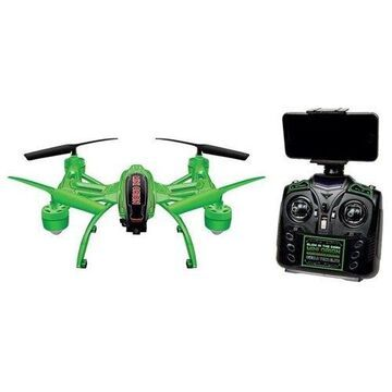 World Tech Toys 33819 Remote Control Helicopter Drone, Green