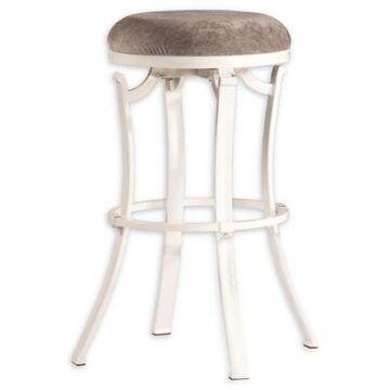 Hillsdale Furniture, Llc. Upholstered Barstool in White