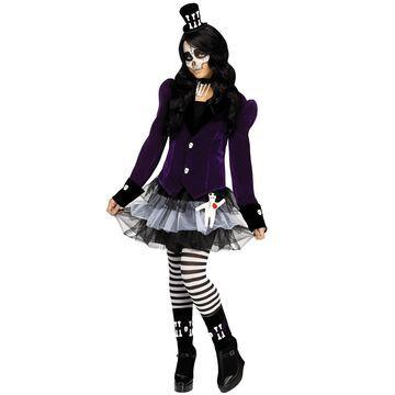 Fun World Voodoo Witch Child Costume-Medium