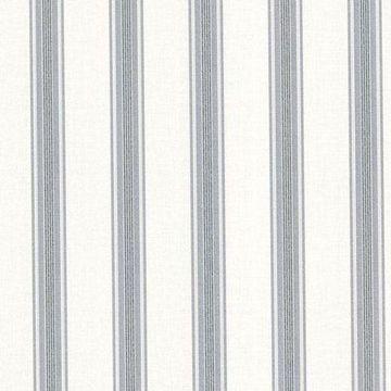 Brewster Lineage Olive Stripe Wallpaper