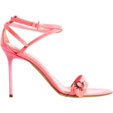 John Galliano \N Pink Patent leather Sandals
