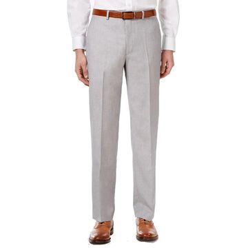 Sean John Mens Pants Silver Gray Size 32x32 Straight Leg Flat Front