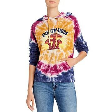 Mother The Square Tie-Dye Hooded Sweatshirt