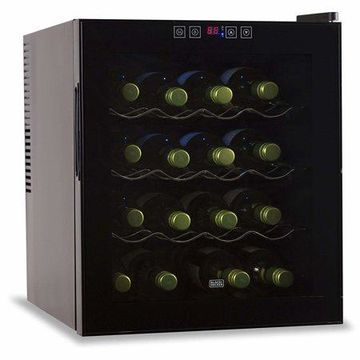 BLACK+DECKER BWT16TB Wine Cellar (16-Bottle Capacity)