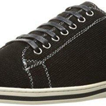 English Laundry Men's Woodford Fashion Sneaker, Black, 8 M US
