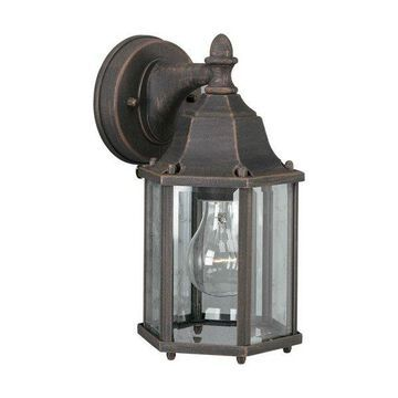 Forte Lighting 1742-01 1 Light Outdoor Wall Sconce