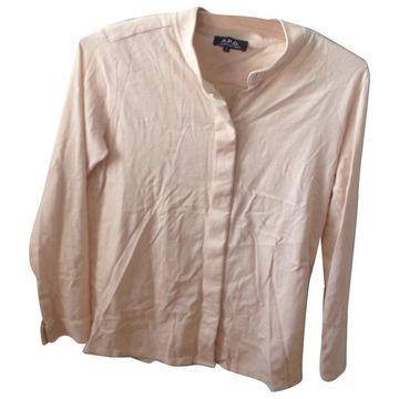 Apc \N Beige Cotton Tops