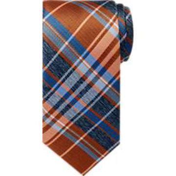 Pronto Uomo Blue Plaid Narrow Tie