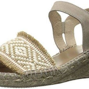 Andre Assous Women's Dana Wedge Sandal, Taupe, 6 M US