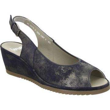 ara Women's Colleen 37120 Blue Caruso Leather