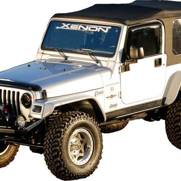 Xenon 9070 Flat Panel Design-Fender Flare Set Fits 97-06 TJ Wrangler