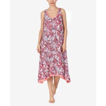 Ellen Tracy Knit Midi Nightgown