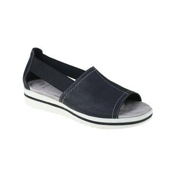 Earth Origins Women's Sandals BLACK - Black Carley Connie Leather Sandal - Women