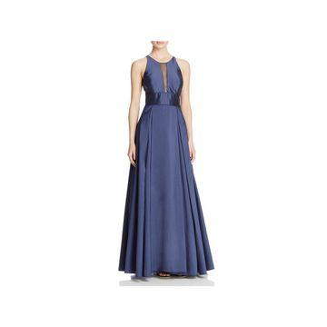 Aidan Mattox Womens Formal Dress Sleeveless Illusion