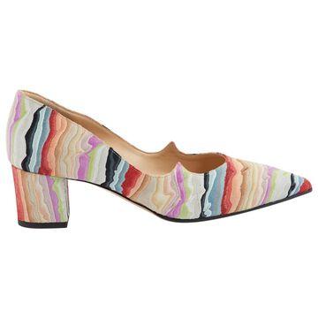 Paul Andrew Multicolour Leather Heels