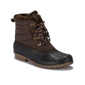 Baretraps Women's Flynn Water-Resistant Duck Boot Women's Shoes