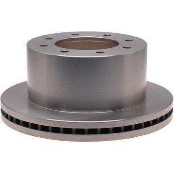 ACDelco Silver Rear Disc Brake Rotor 18A2797A