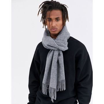 Weekday Rei scarf in gray