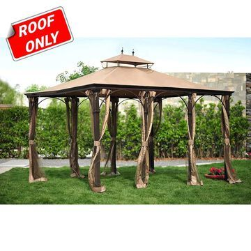 Sunjoy Replacement Canopy set for L-GZ212PST 10X12 Dustin Gazebo (As Is Item)