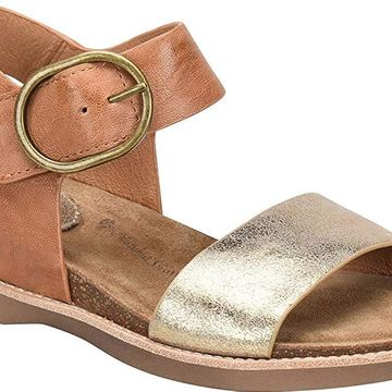 Sofft Womens Bali Leather Open Toe Casual Ankle Strap
