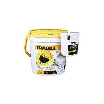 Frabill Dual Fish Bait Bucket w/Clip-On Aerator