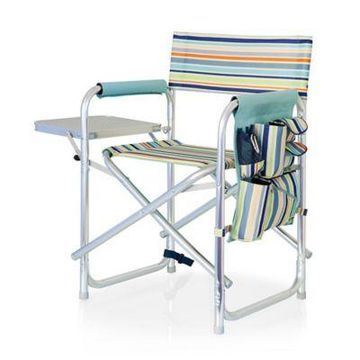 Picnic Time Folding Sports Chair in St. Tropez