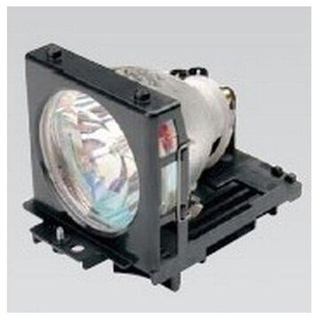 Hitachi CP-RX61 Projector Housing with Genuine Original OEM Bulb