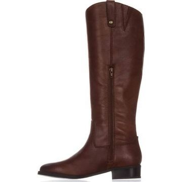 INC International Concepts Womens Fawne Leather Round Toe Knee