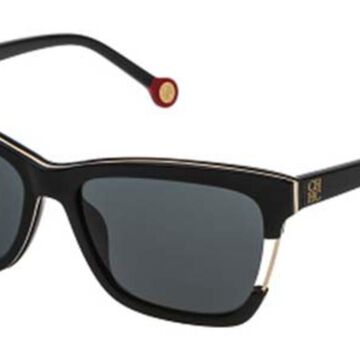 Carolina Herrera SHE752 0700 Men's Sunglasses Black Size 56