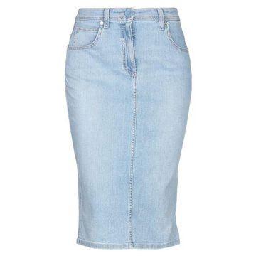 BLUMARINE Denim skirt