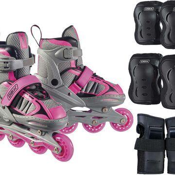 DBX Girls' Equinox Adjustable Inline Skate Package