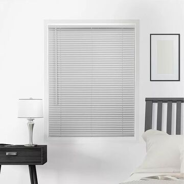 Chicology Cordless 1-in. Mini Blinds, Grey, 72X64