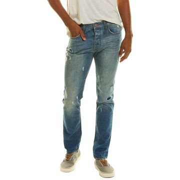 One Teaspoon Mr Whites Blue Cult Relaxed Tapered Jean