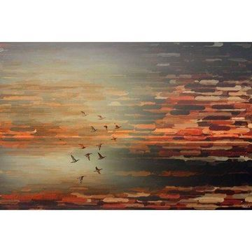 Parvez Taj Night Flight Canvas Wall Art