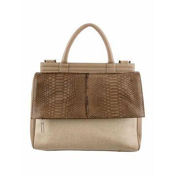 Leather Shoulder Bag Brown