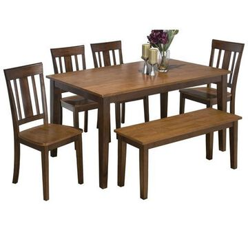 Kura Espresso/Canyon Gold Dining Table