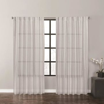 Vera Wang Fil Coupe Window Panel Set