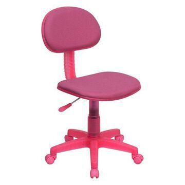 Offex Pink Fabric Ergonomic Task Chair