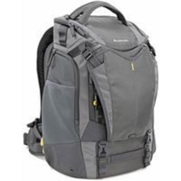 Vanguard Alta Sky 49 Backpack for 1-2 Pro DSLR Camera with Attached Lens (Up to 300mm f/4 Lens), 4-6 Lenses, a Flash and Accessories, or a Drone with Accessories, Dark Gray
