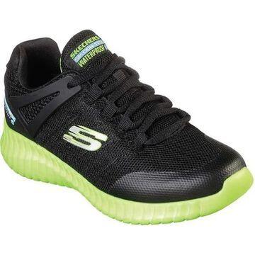 Skechers Boys' Elite Flex Hydropulse Sneaker Black/Lime