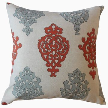 The Pillow Collection Palti Damask Decorative Throw Pillow