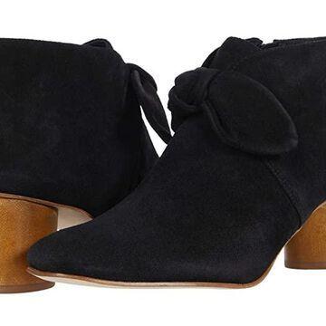 Bernardo Ilanna (Black Split Suede) Women's Boots