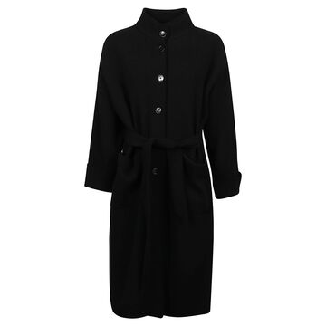 Barena Belt-waist Long Coat