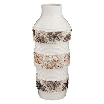 Dimond Home Terracotta Shell Vase