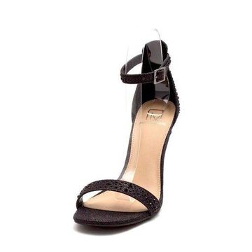Material Girl Womens Blaire4 Fabric Open Toe