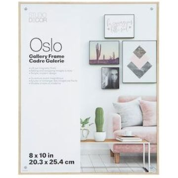 Blonde Deep Edgeless Frame, Oslo By Studio Decor