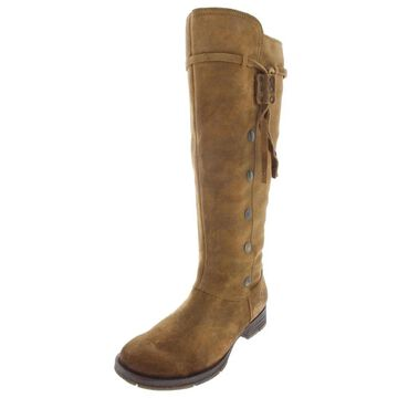 Born Womens Anzer Mid-Calf Boots Leather Mid
