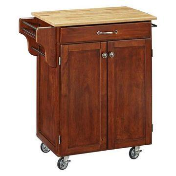 Home Styles Kitchen Cart in Cherry