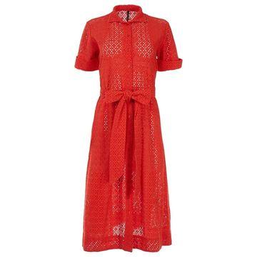Lisa Marie Fernandez Red Cotton Dresses